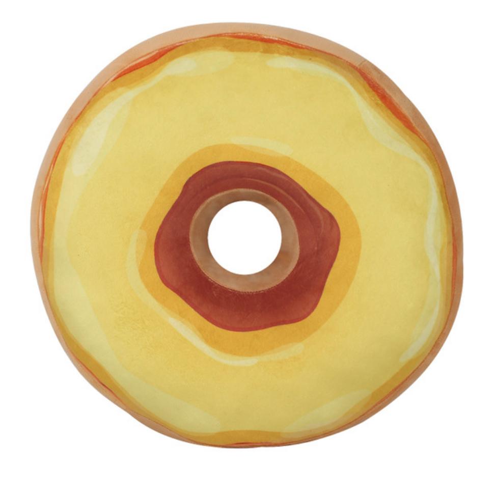 Yellow Donut Plush Toy