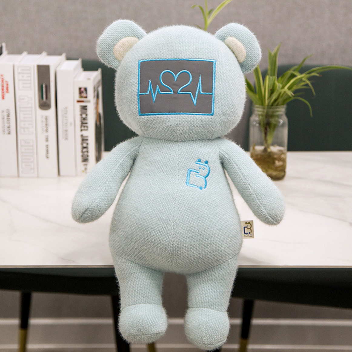 Heartbeat Plush Bear