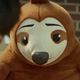 Brown Sloth Plush