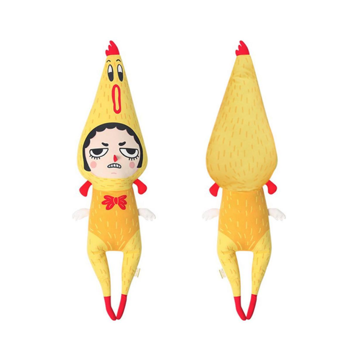 Rubber Chicken Girl Plush