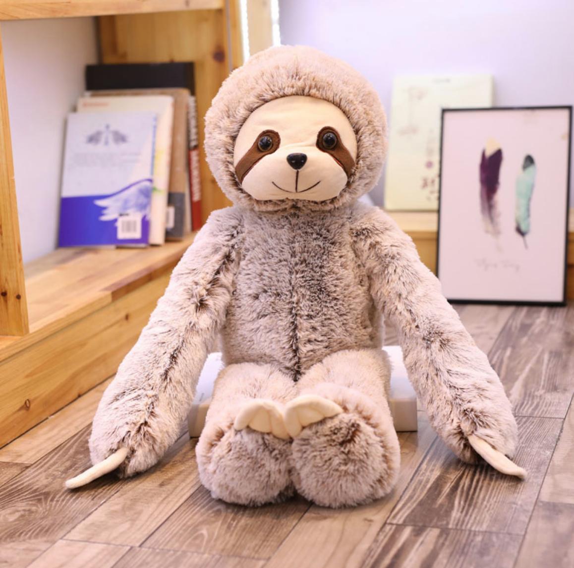 Fluffy Sloth Plush