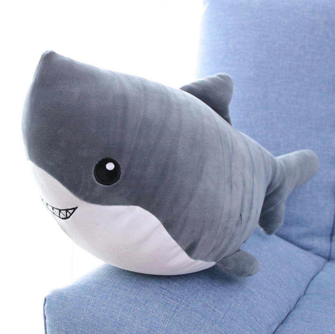 Grey Shark Plush