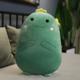 Green Dino Plush Cushion