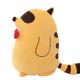 Sideways Yellow Raccoon Plush