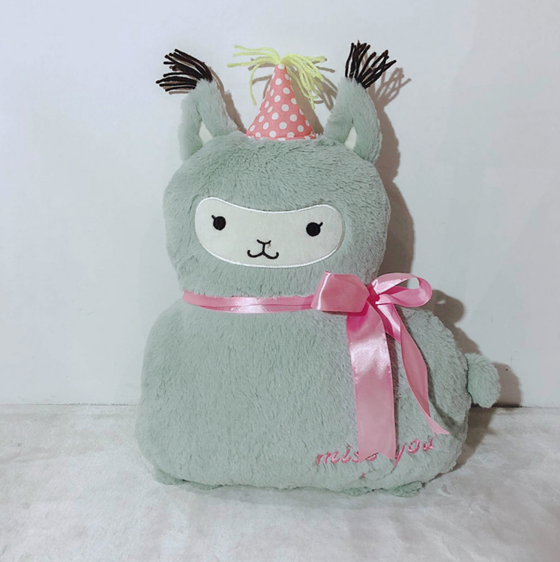 Miss You Llama Plush
