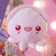 Happy Pink Octopus Plush