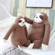 Knit Sloth Plush