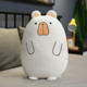 White Pug Plush Cushion