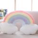 Rainbow Plush Cushion