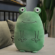 Green Frog Plush Cushion