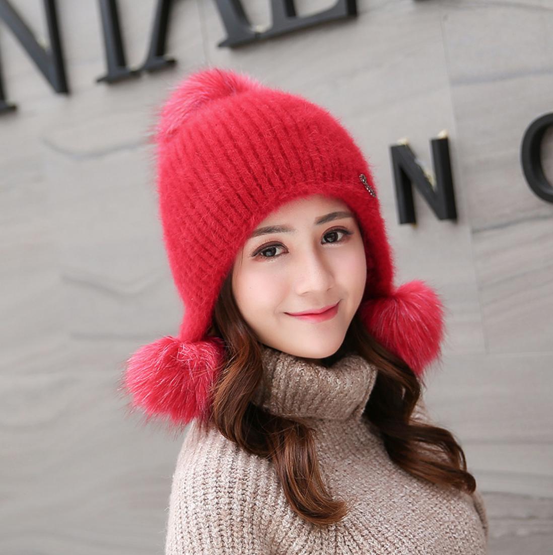 Fuzzy Knit Toque