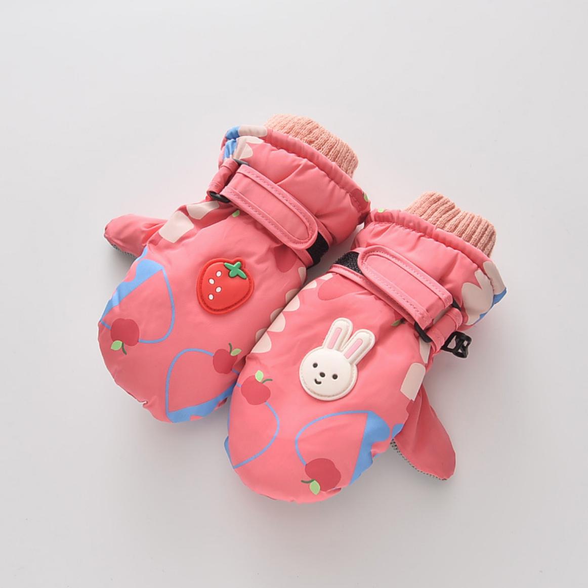 Rabbit Strawberry Glove 2-4Y