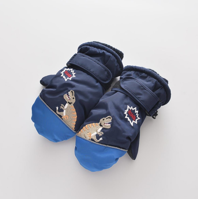 Unicorn and Trex Glove 2-4Y