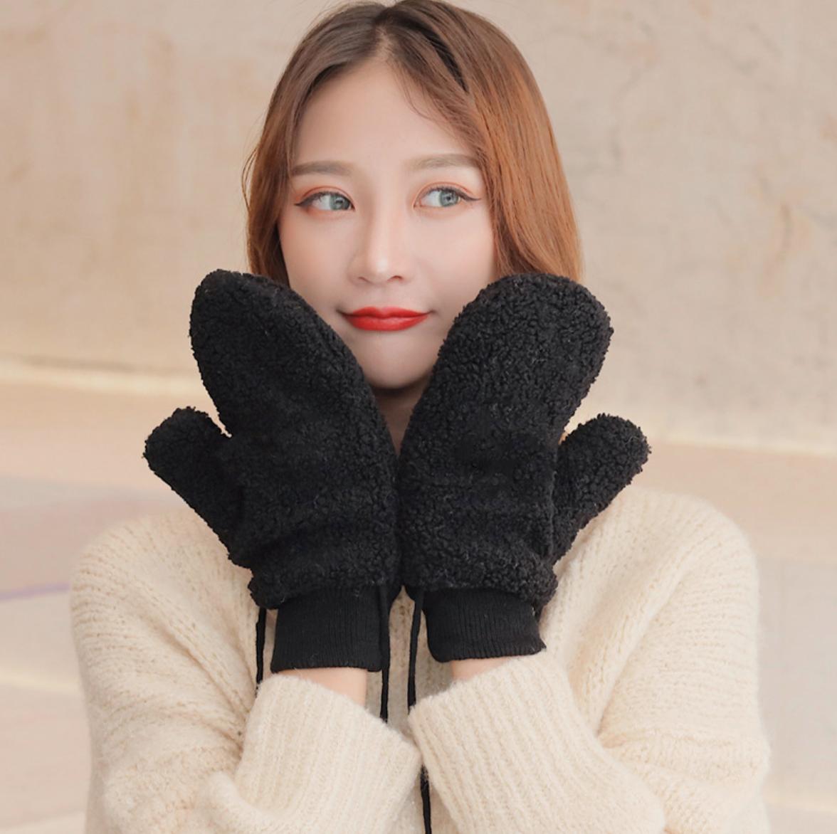 Fuzzy Gloves