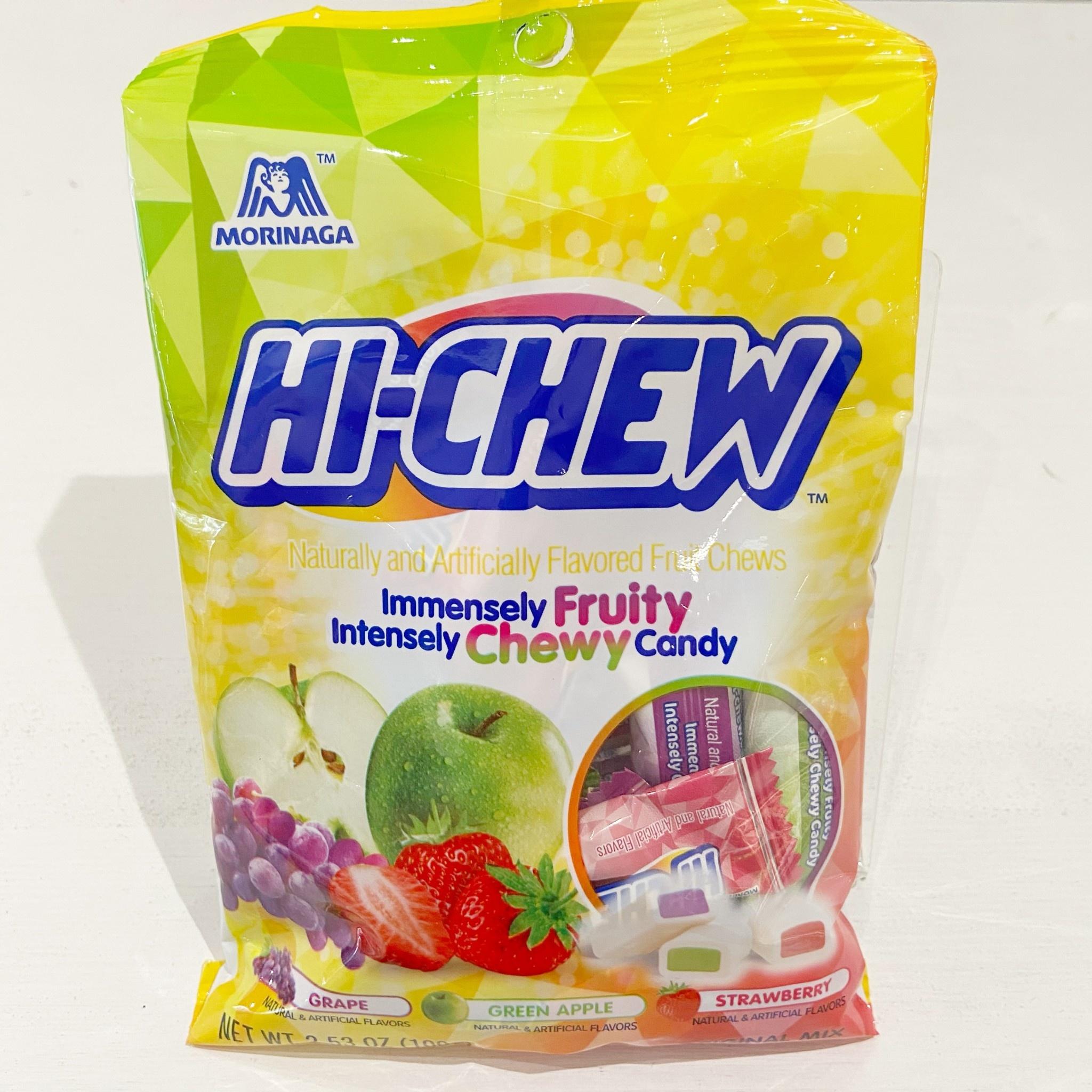 Morinaga Hi Chew Grape/Apple/Strawberry Bag 100g