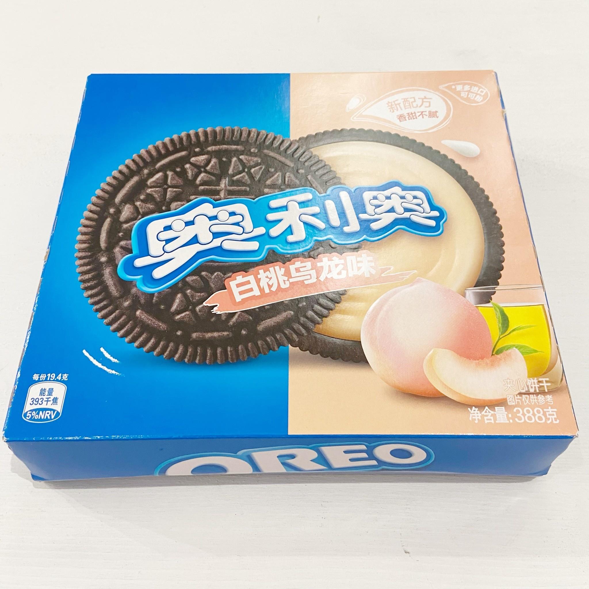 Oreo Cookies Box Peach Oolong  388g