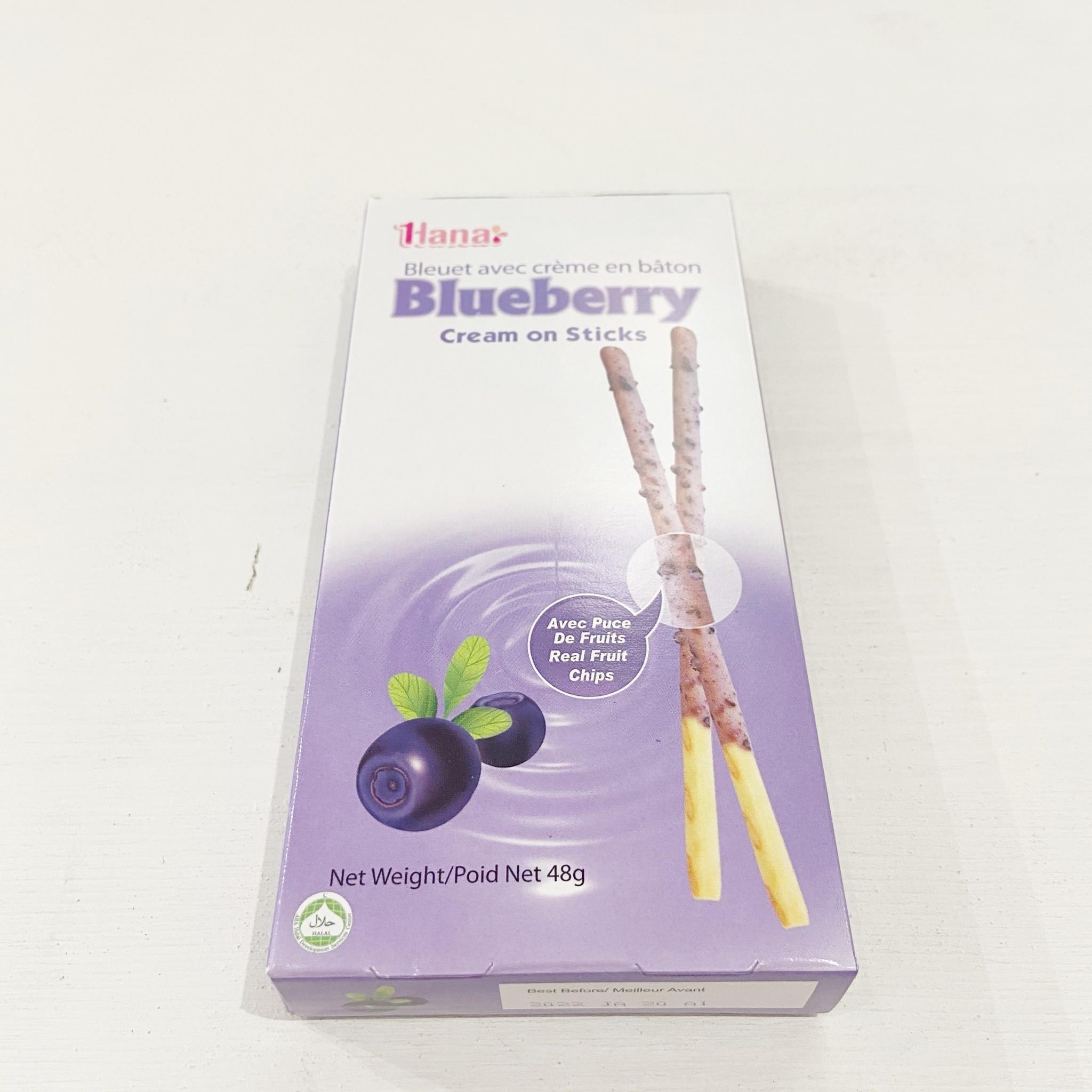Hana Cream on Stick Blueberry 48g