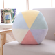 Colorful Ball Purple Plush Cushion