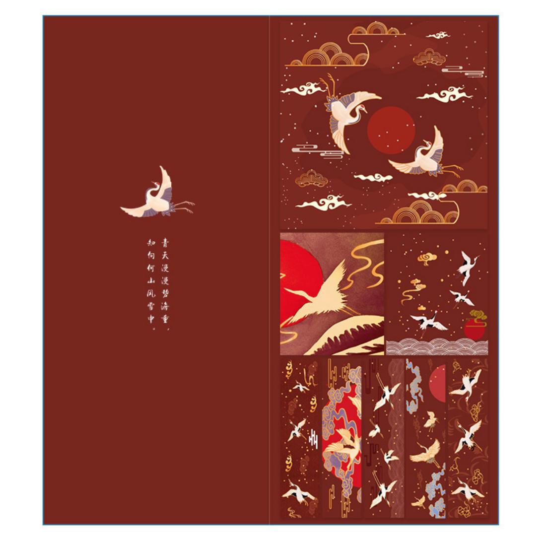 Crane Note Pad Paper Sets