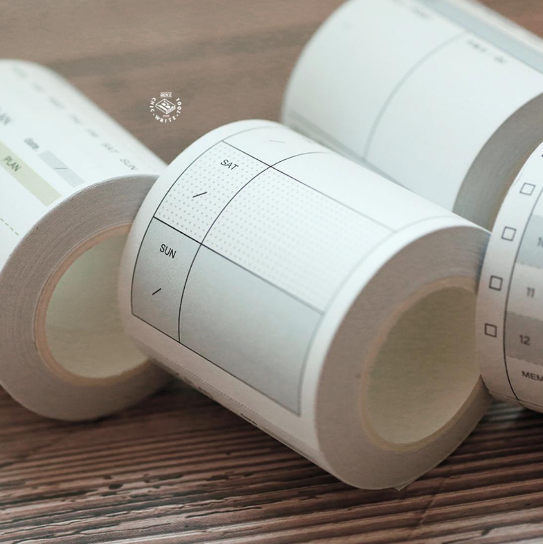 Washi Tape Planner