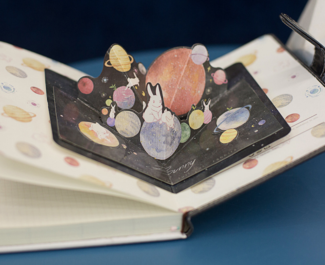 Bunny Planet Notebook