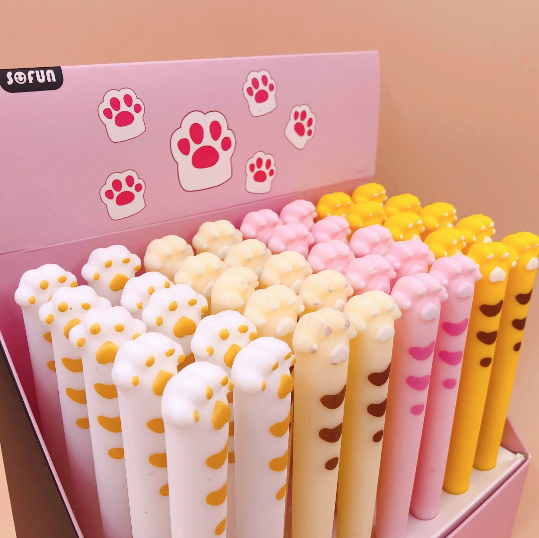 Cat Paw Gel Ink Pen