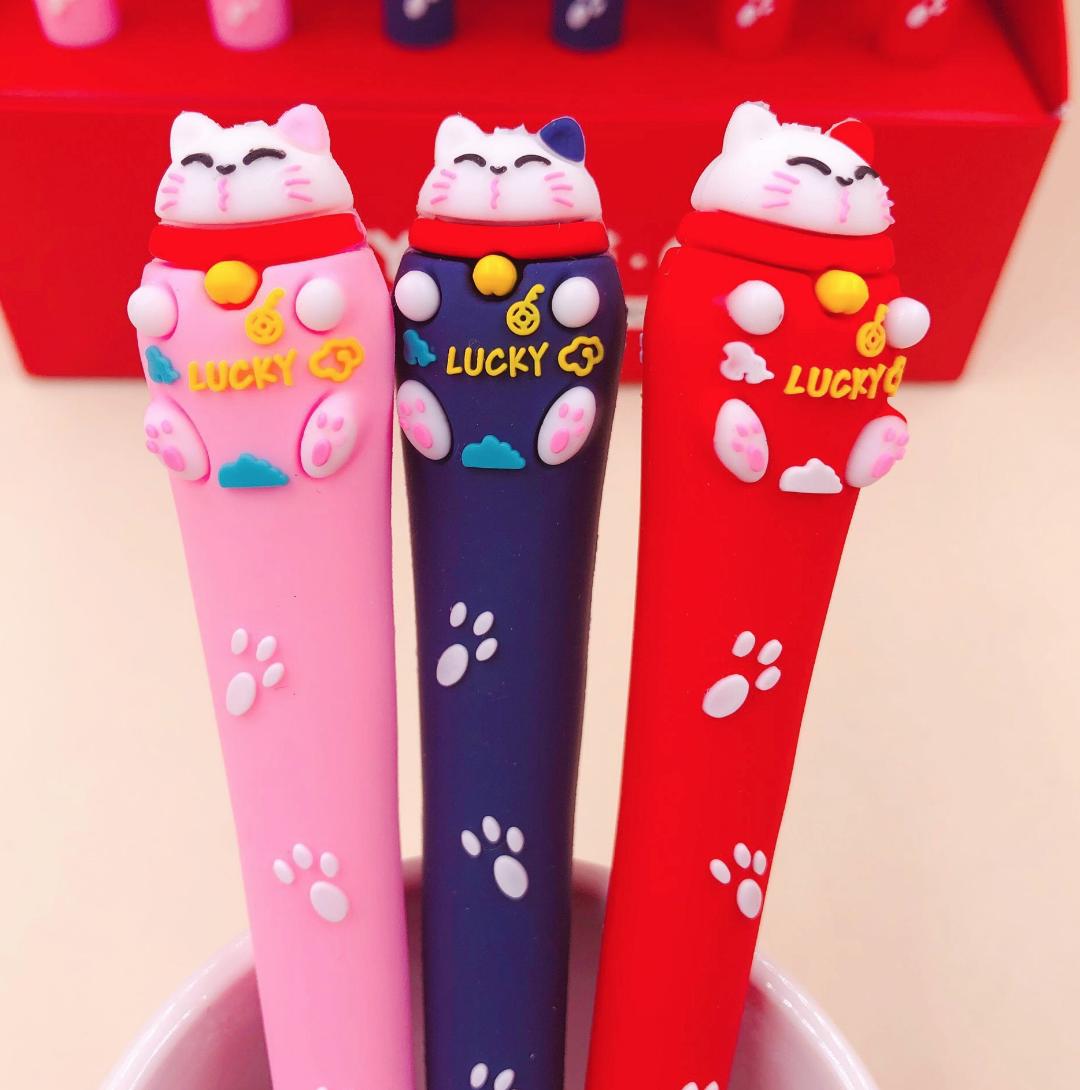Lucky Cat Gel Ink Pen