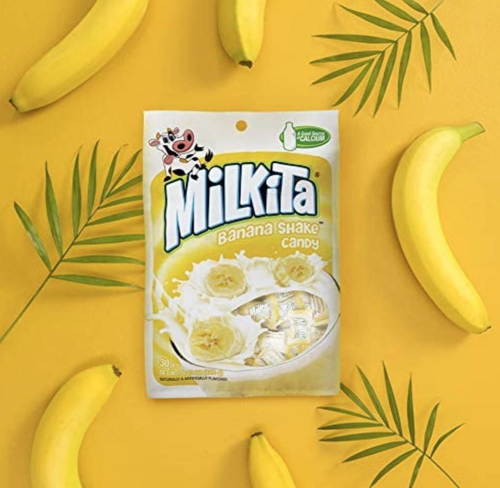 Milkita Milkita Banana Shake Candy