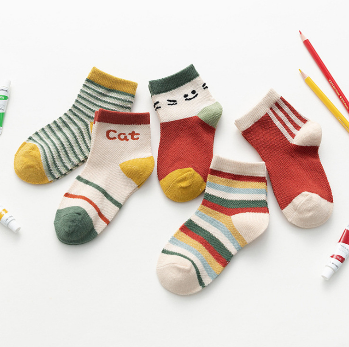 Stripe Children Sock 1-12Y
