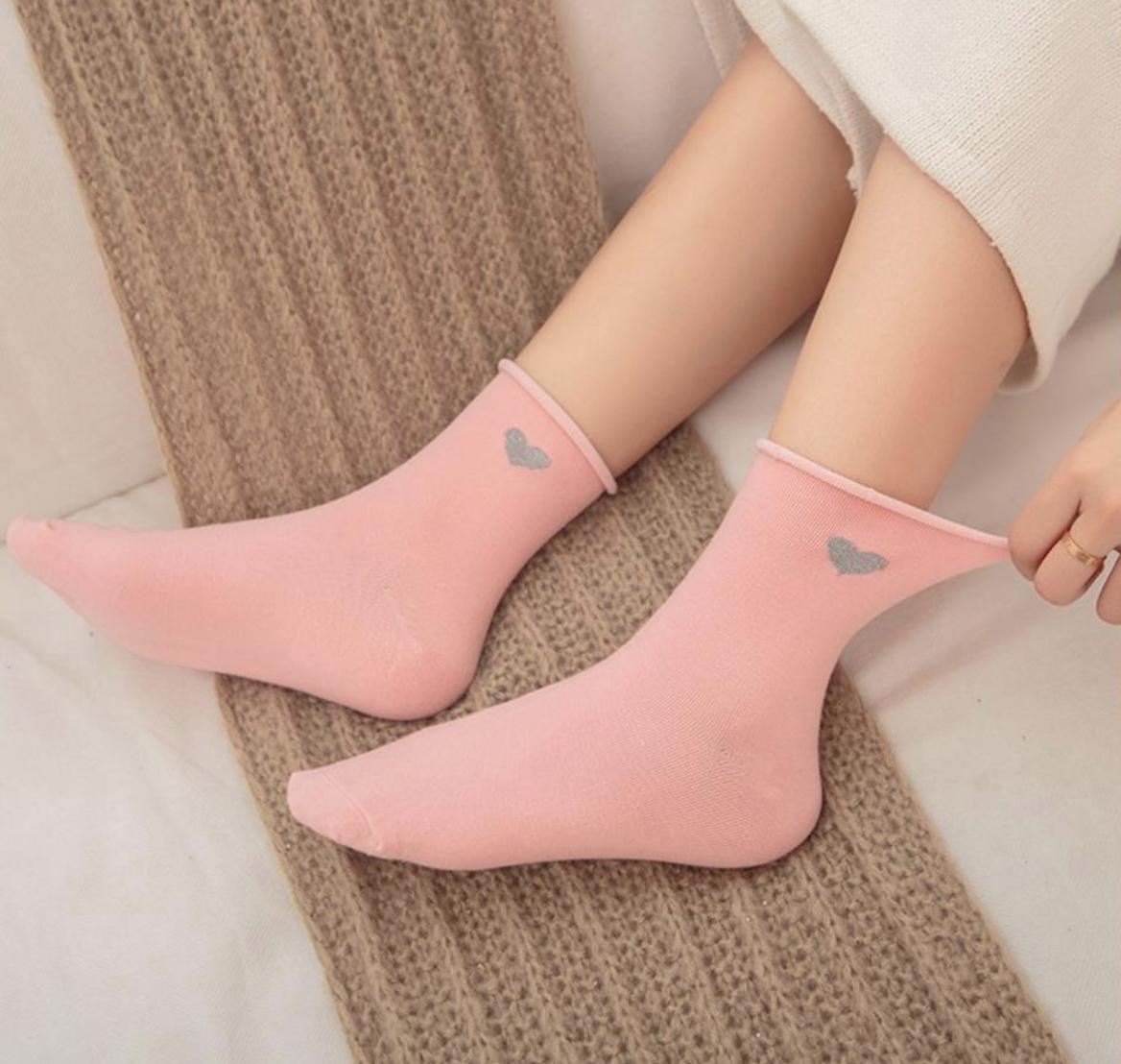 Heart Adult Sock