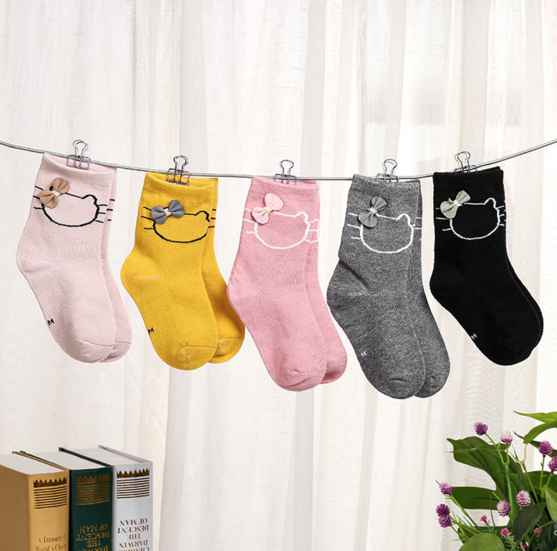 Hello Kitty Sock Children 6-12Y