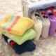 Two Stripe Fuzzy Sock