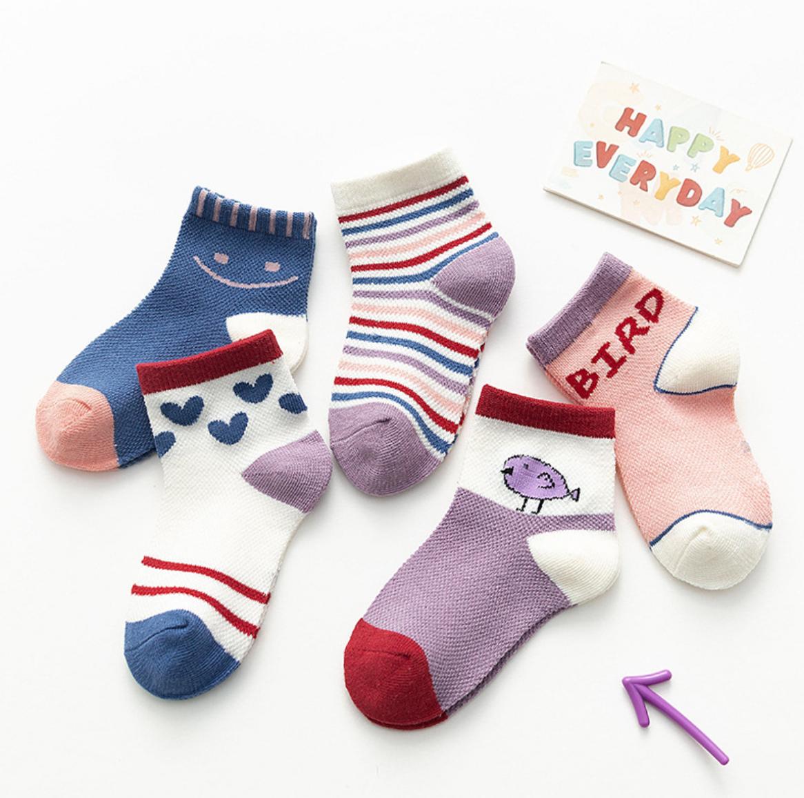 Bird Children Socks 3-8Y