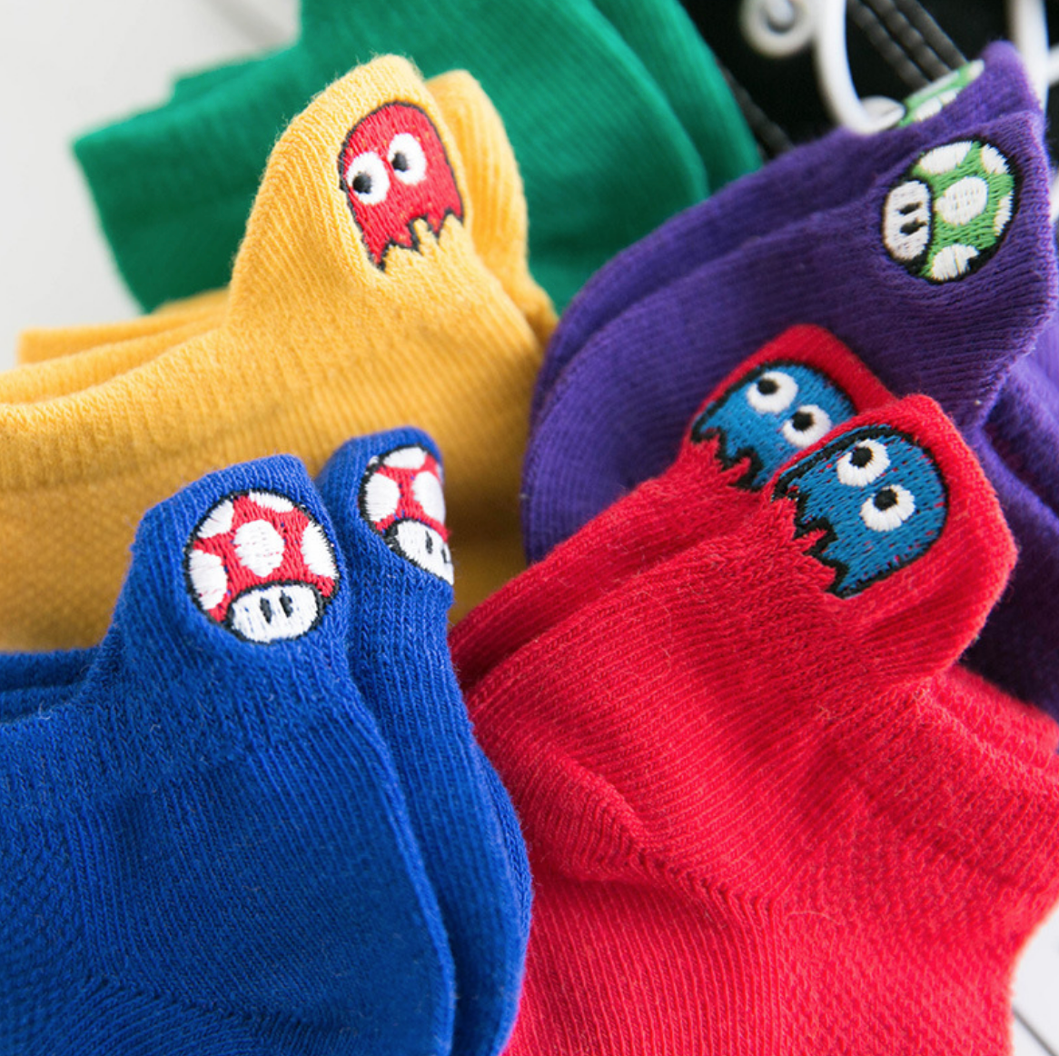Pacman Socks 3-8Y