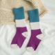 Color Block Children Sock 6-8Y