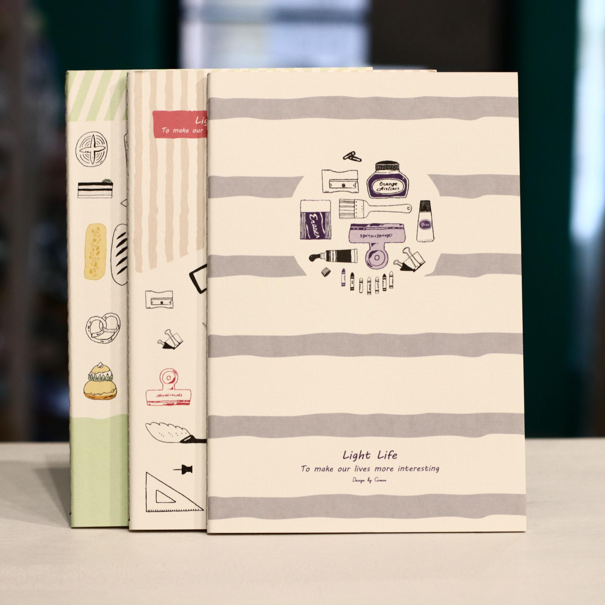 Jimen GN01-A554-2006 Light Life Notebook