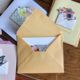 Ke Xin Flower Cut Out Cards