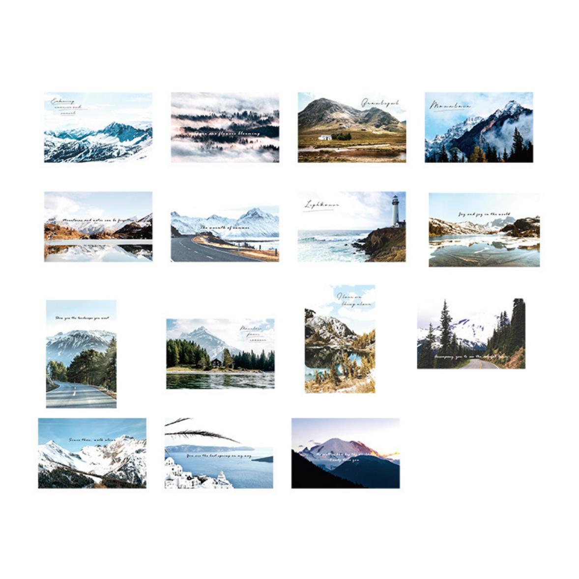 Ke Xin Postcard Scrapbook