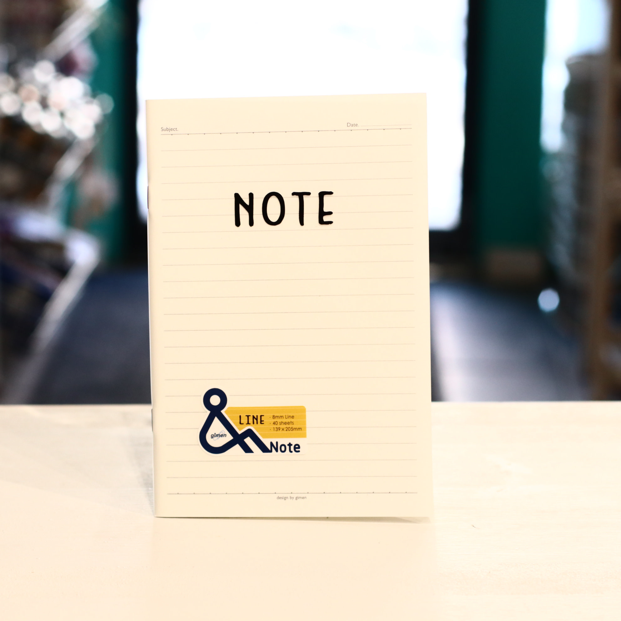 Jimen GN01-1617 Line Notebook