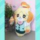 Animal Crossing Isabelle Keychain 10cm