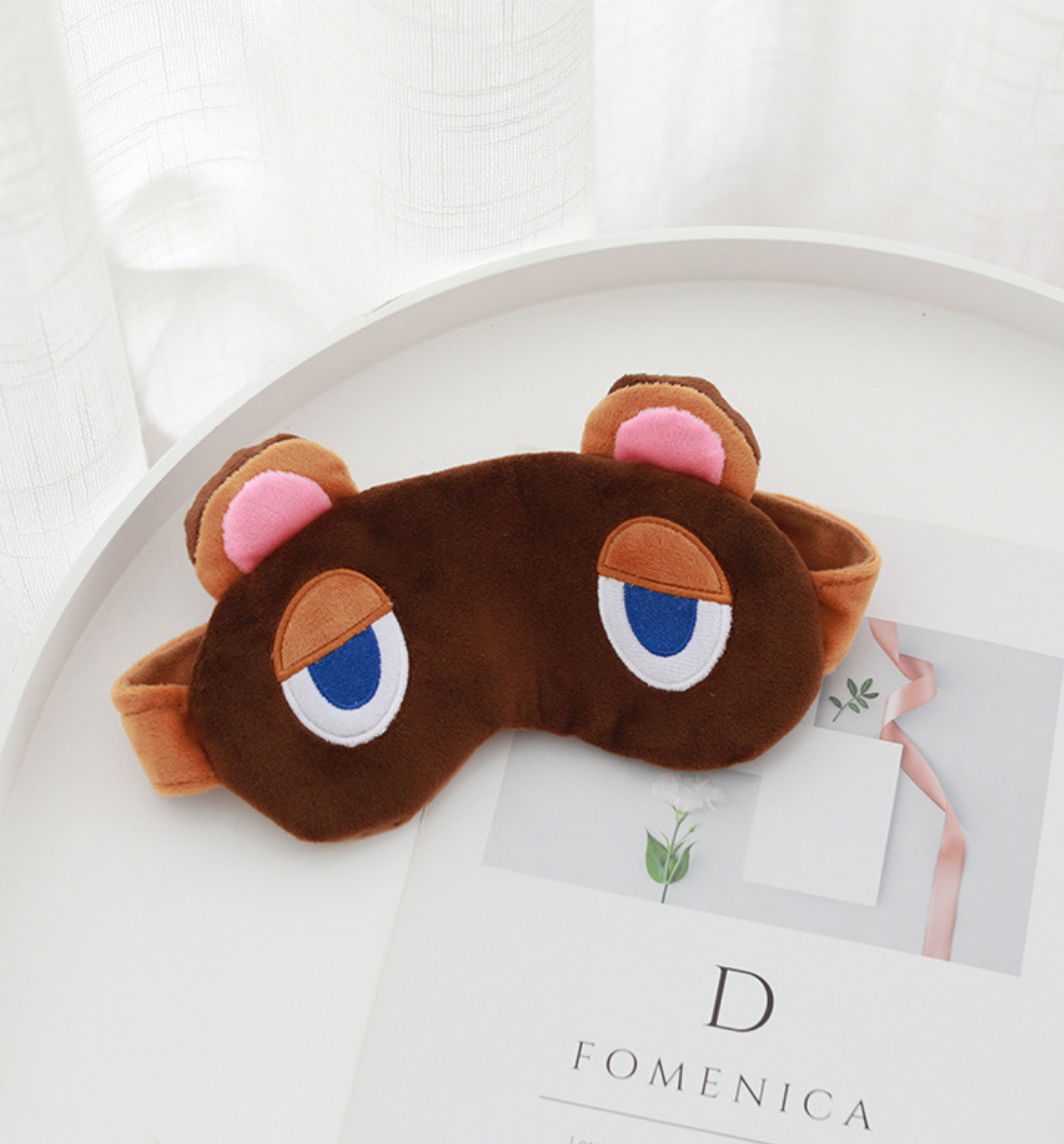 Animal Crossing Tom Nook Eye Cover