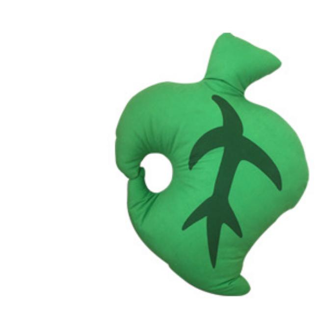 Animal Crossing Green Leaf Keychain 10cm