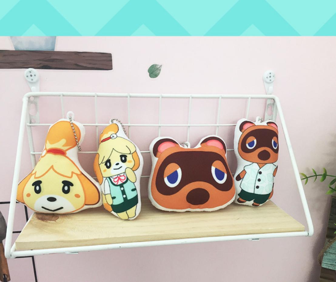 Animal Crossing Raymond Head Keychain 10cm