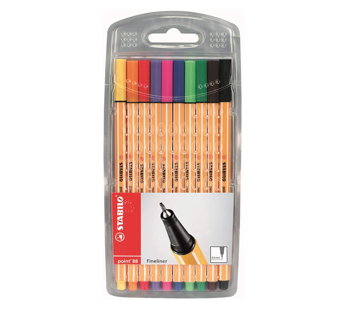 Stabilo Stabilo Point 88 Pen Set 10pc