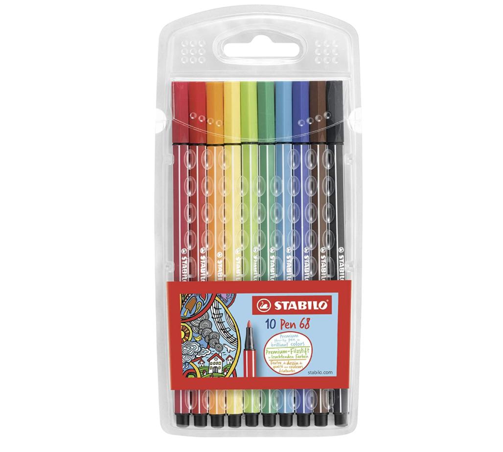 Stabilo Stabilo Pen 68 Marker Set 10 pc