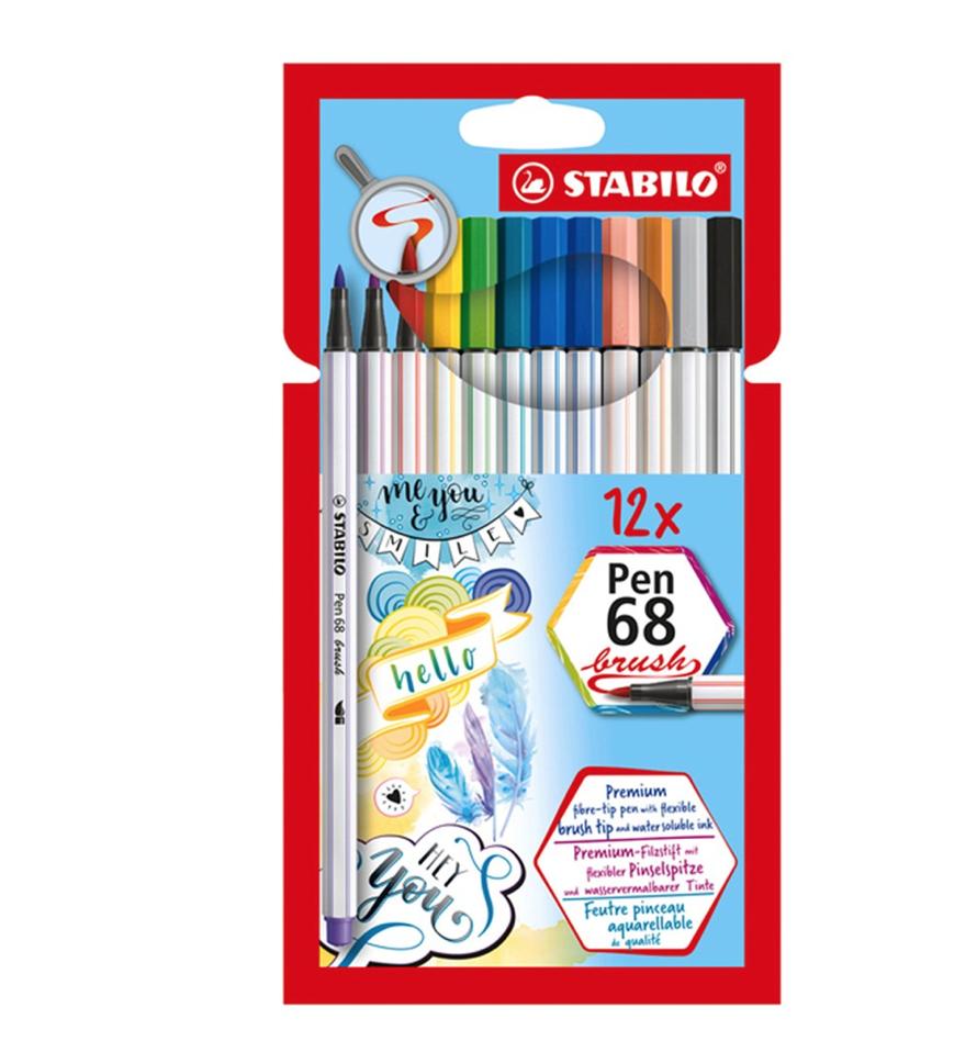 Stabilo Stabilo Pen 68 Brush Pen Set