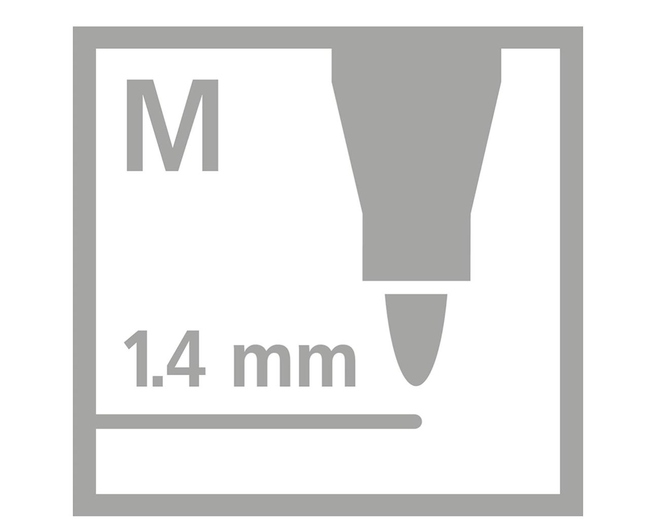 Stabilo Stabilo Pen 68 Metallic Marker Set 6 pcs