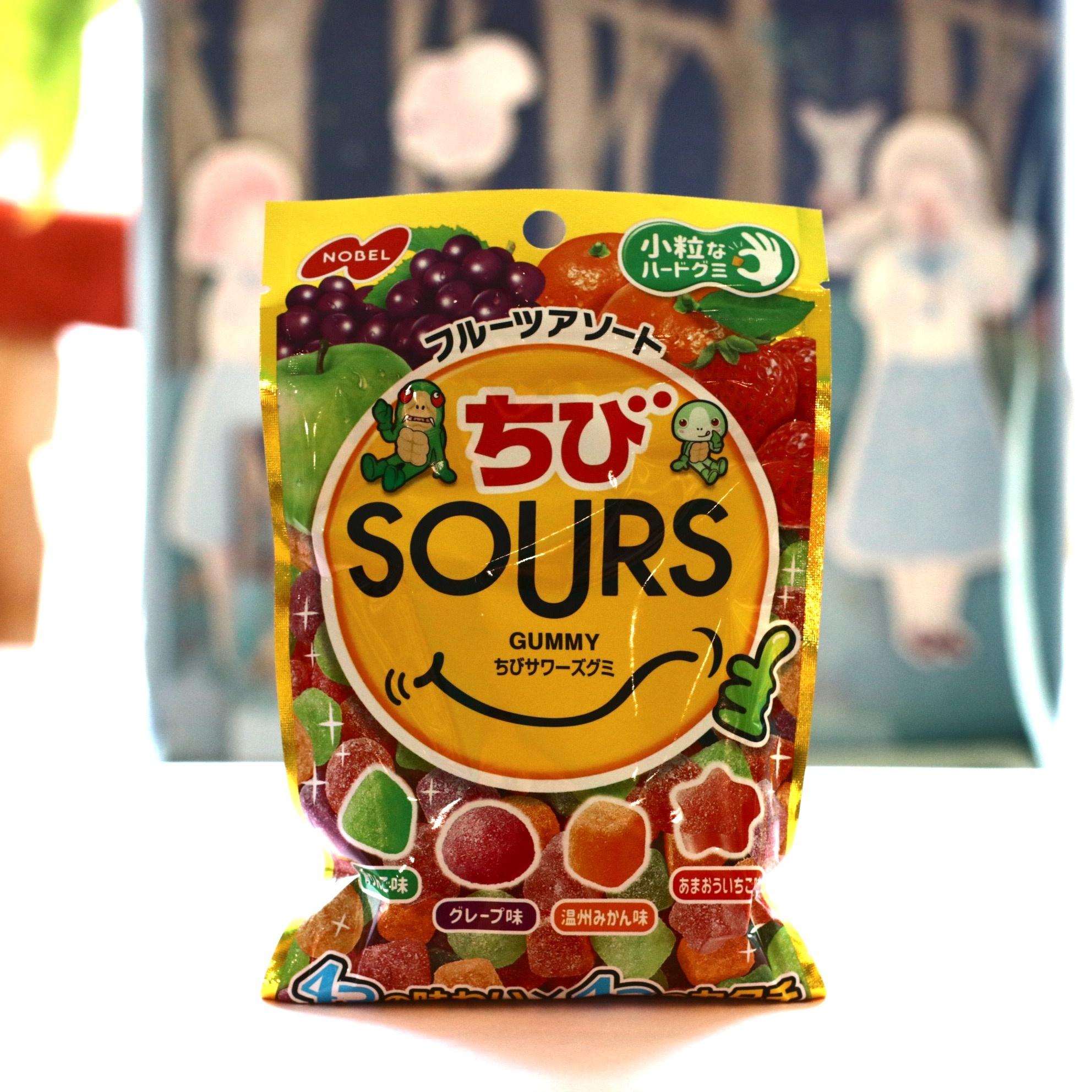 Nobel Nobel Gummy Fruit Mixed