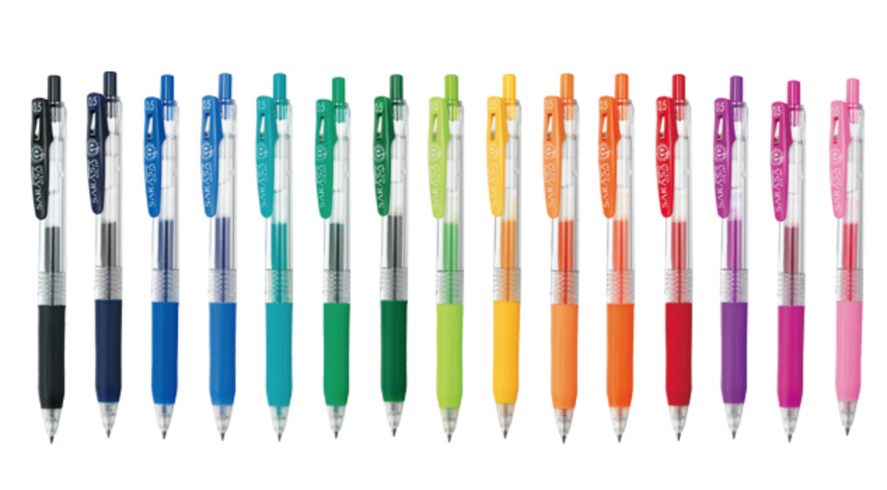 Zebra Sarasa Clip Regular 0.5mm Gel Ink Pen