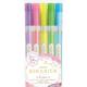 Zebra Kirarich Glitter Highlighter Assorted 5 pk